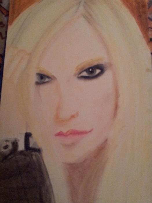 Avril Lavigne by rockart